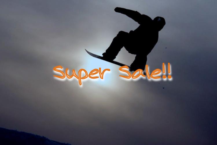 Super Sale! WEB早割